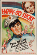 """Movie Posters:Musical, Happy Go Lucky (Republic, 1936). One Sheet (27"""" X 41""""). Musical....."""
