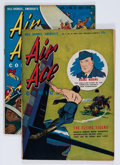 Golden Age (1938-1955):War, Bill Barnes Comics #10 and 11 Group (Street & Smith, 1943)....(Total: 2 Comic Books)
