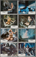 """Movie Posters:Horror, King Kong (Paramount, 1976). Lobby Card Set of 8 (11"""" X 14""""). Horror.. ... (Total: 8 Items)"""