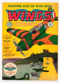 Golden Age (1938-1955):War, Wings Comics #1 (Fiction House, 1940) Condition: Apparent VG-....