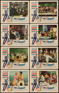 "Fun in Acapulco (Paramount, 1963). Lobby Card Set of 8 (11"" X 14""). Elvis Presley. ... (Total: 8 Items)"