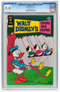 Bronze Age (1970-1979):Cartoon Character, Walt Disney's Comics and Stories #440 File Copy (Gold Key, 1977)CGC NM 9.4 Off-white to white pages....