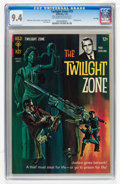 Silver Age (1956-1969):Horror, Twilight Zone #19 File Copy (Gold Key, 1967) CGC NM 9.4 Off-whiteto white pages....