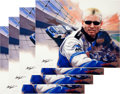 Miscellaneous Collectibles:General, 2004 Mark Martin Signed Carlo Beninati Giclee and Prints Lot of45....
