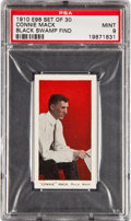 "Baseball Cards:Singles (Pre-1930), 1910 E98 ""Set of 30"" Connie Mack PSA Mint 9 - Black Swamp Find. ..."