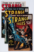 Silver Age (1956-1969):Science Fiction, Strange Tales Group (Atlas, 1956-59) Condition: Average VG.... (Total: 5 Comic Books)