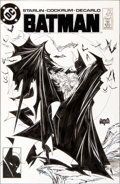 Original Comic Art:Covers, Todd McFarlane Batman #423 Cover Original Art (DC, 1988)....