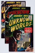 Golden Age (1938-1955):Horror, Journey Into Unknown Worlds Group (Atlas, 1954-57) Condition:Average VG/FN.... (Total: 5 Comic Books)