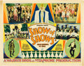 "Movie Posters:Musical, Show of Shows (Warner Brothers, 1929). Half Sheet (22"" X 28"").. ..."
