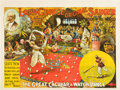 "Movie Posters, Lord George Sanger Circus Poster (Knight and Forster, 1902). Poster(30"" X 38.5"").. ..."