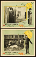"Movie Posters:Comedy, A Dog's Life (Pathe, R-1920s). Lobby Cards (2) (11"" X 14""). Fromthe Leonard and Alice Maltin Collection.. ... (Total: 2 Items)"