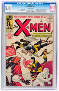 Silver Age (1956-1969):Superhero, X-Men #1 (Marvel, 1963) CGC VG/FN 5.0 Off-white....