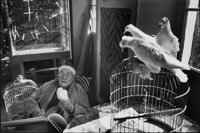 HENRI CARTIER-BRESSON (French, 1908-2004) Henri Matisse in Vence, 1944 Gelatin silver, printed no la