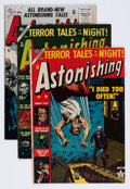 Golden Age (1938-1955):Horror, Astonishing Group (Atlas, 1953-56) Condition: Average VG/FN....(Total: 5 Comic Books)