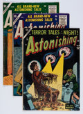 Golden Age (1938-1955):Horror, Astonishing Group (Atlas, 1954-57) Condition: Average VG-....(Total: 6 Comic Books)