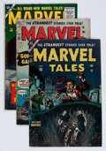 Golden Age (1938-1955):Horror, Marvel Tales Group (Atlas, 1954-56) Condition: Average GD+....(Total: 5 Comic Books)