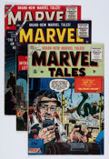 Golden Age (1938-1955):Horror, Marvel Tales Group (Atlas, 1955-56) Condition: Average VG/FN....(Total: 5 Comic Books)