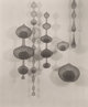 IMOGEN CUNNINGHAM (American, 1883-1976) Ruth Asawa's Wire Baskets and Their Shadows, 1956 Vintage gelatin silver 9-1/