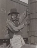 Photographs:20th Century, LEWIS W. HINE (American, 1874-1940). Untitled, circa 1923.Gelatin silver, printed later. 4-3/4 x 3-3/4 inches (12.2 x 9...