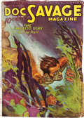 Pulps:Hero, Doc Savage - October '33 (Street & Smith, 1933) Condition: VG/FN....