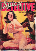 Pulps:Detective, Spicy Detective Stories - July '34 (Culture, 1934) Condition: VG-....