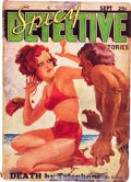 Pulps:Detective, Spicy Detective Stories - September '34 (Culture, 1934) Condition: VG....