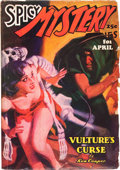 Pulps:Horror, Spicy Mystery Stories - April '37 (Culture, 1937) Condition: VG....
