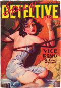Pulps:Detective, Spicy Detective Stories - January '36 (Culture, 1936) Condition:VG....