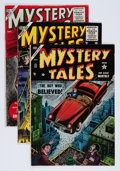 Golden Age (1938-1955):Horror, Mystery Tales Group (Atlas, 1954-57) Condition: Average VG+....(Total: 7 Comic Books)