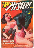 Pulps:Horror, Spicy Mystery Stories - July '36 (Culture, 1936) Condition: VG....