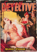 Pulps:Detective, Spicy Detective Stories - April '37 (Culture, 1937) Condition: VG....