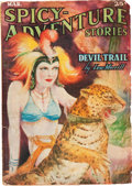 Pulps:Adventure, Spicy Adventure Stories - March '37 (Culture, 1937) Condition: VG-....