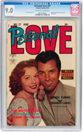 Golden Age (1938-1955):Romance, Personal Love #27 (Famous Funnies, 1954) CGC VF/NM 9.0 Off-white towhite pages....