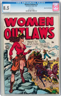 Golden Age (1938-1955):Crime, Women Outlaws #2 Mile High pedigree (Fox Features Syndicate, 1948) CGC VF+ 8.5 White pages....