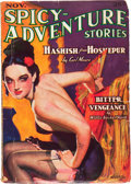 Pulps:Adventure, Spicy Adventure Stories - November '36 (Culture, 1936) Condition: VG....