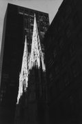 Photographs, LEONARD FREED (American, 1929-2006). New York City, 5th Ave, R.C. Church. Gelatin silver, printed later. 5-3/4 x 4 inche...