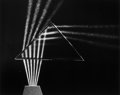 Photographs:20th Century, BERENICE ABBOTT (American, 1898-1991). Light Through Prism,1958. Gelatin silver, printed later. 15-3/4 x 19-3/4 inches ...