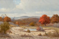 Texas:Early Texas Art - Regionalists, PORFIRIO SALINAS (American, 1910-1973). October in Texas.Oil on canvas. 24 x 36 inches (61.0 x 91.4 cm). Signed lower l...