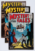 Golden Age (1938-1955):Horror, Mystery Tales Group (Atlas, 1955-56).... (Total: 5 Comic Books)