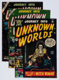 Golden Age (1938-1955):Horror, Journey Into Unknown Worlds Group (Atlas, 1952-56) Condition:Average VG.... (Total: 9 Comic Books)