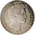 German States:Bavaria, German States: Bavaria. Ludwig I 2 Taler 1846, KM441, MS62 NGC,lightly toned with gold and russet highlights, typical smallsurface marks ...