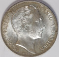 German States:Bavaria, German States: Bavaria. Maximilian II 2 Gulden 1852, KM446, choicebrilliant UNC with light, attractive toning - a superior coin whichis c...