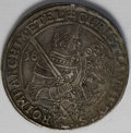 German States:Saxony, German States: Saxony. Christian II et al Taler 1608, Davenport 7566, KM24, nice toned VF, bust of Christian on the obverse, facing busts o...