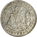 German States:Saxony, German States: Saxony. Johan Georg I Taler 1628-HI, KM132, Davenport 7601, MS63 NGC, well-struck and fully lustrous, just a couple of tiny ...