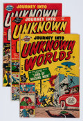 Golden Age (1938-1955):Horror, Journey Into Unknown Worlds Group (Atlas, 1951-57).... (Total: 18Comic Books)