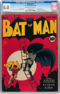 Golden Age (1938-1955):Superhero, Batman #4 (DC, 1940) CGC FN 6.0 Off-white to white pages....