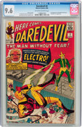Silver Age (1956-1969):Superhero, Daredevil #2 (Marvel, 1964) CGC NM+ 9.6 Off-white to whitepages....