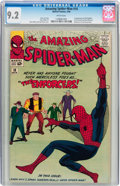 Silver Age (1956-1969):Superhero, The Amazing Spider-Man #10 (Marvel, 1964) CGC NM- 9.2 Whitepages....