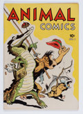 Golden Age (1938-1955):Funny Animal, Animal Comics #1 (Dell, 1942) Condition: FN....