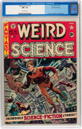 Golden Age (1938-1955):Science Fiction, Weird Science #12 Gaines File pedigree 3/11 (EC, 1952) CGC NM- 9.2Off-white pages....